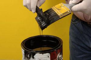 Cu ce se curata vopseaua pe baza de ulei de pe haine