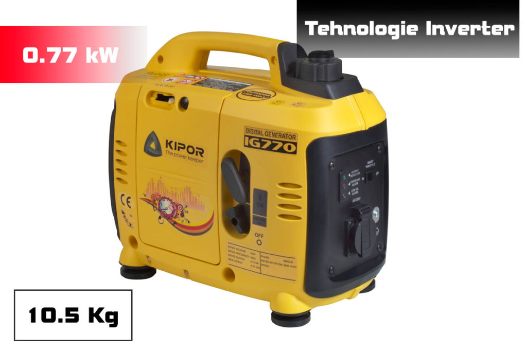generator digital Kipor IG 770 Seria Sinemaster