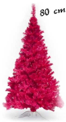 Brad artificial ieftin roz 80 cm