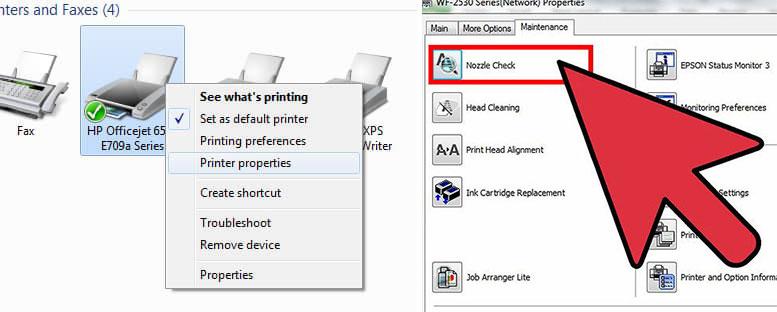 curatare cap imprimanta
