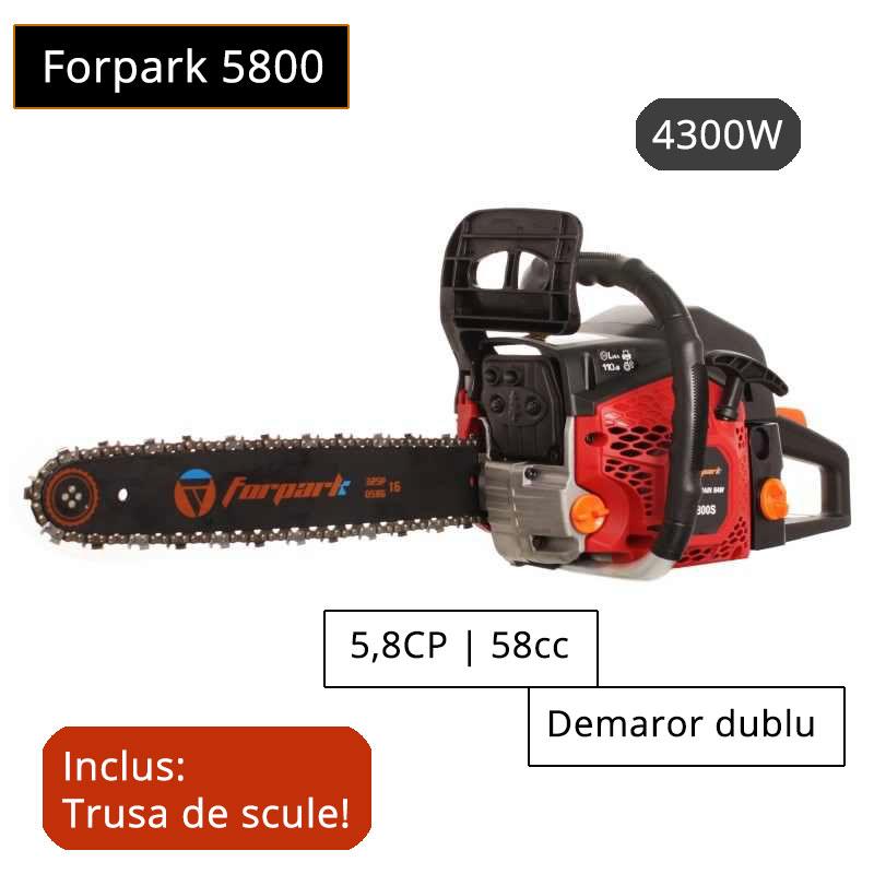 Motofierastrau drujba benzina Forpark 5800