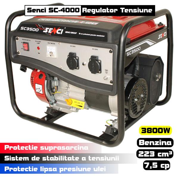 generator AVR regulator de tensiune Senci SC-4000