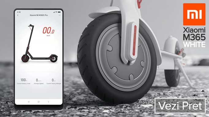 Xiaomi Trotineta electrica Mijia M365 White